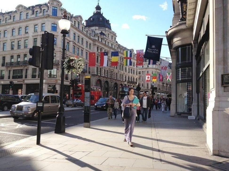 Las tiendas de Oxford Circus y Regent Street